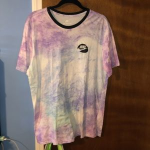 The Nike Tee tie dye t shirt